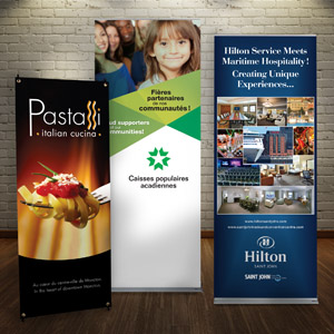 photographic quality printed displays by Creative Laminating Moncton