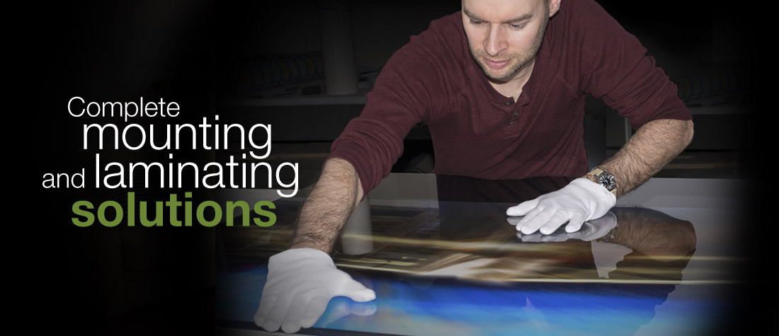 mounting and laminating solutions