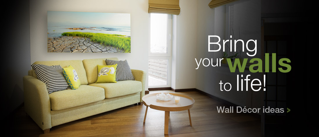 Bring your walls to life with our many Wall Decor Ideas.